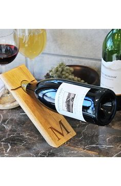 CATHY'S CONCEPTS Counter Balance Wine Bottle Holder available at #Nordstrom