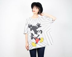 Vintage Mickey Mouse T Shirt Disney Shirt by ShopTwitchVintage, $30.00