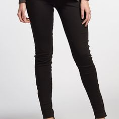 Organic Cotton Leggings with zip ankle detail