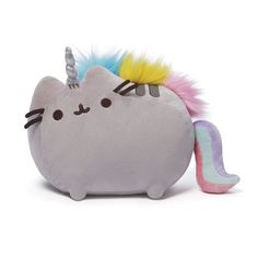 Pusheen the Cat Pusheenicorn 13-Inch Plush - Gund - Pusheen - Plush at Entertainment Earth