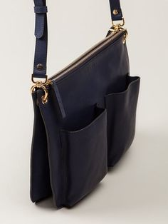 Marni Poacket Detailed Shoulder Bag