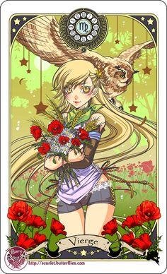 Astrology deck card: Virgo by Bory-Einfrost.deviantart.com on @DeviantArt