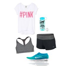 Cute workout outfit for summer