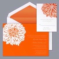 Invitations - HUMBLEBRIDE03's Orange Wedding by Color Blog