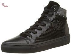 2d3a50b6c27c0 Pataugas Yoko/o F4B, Sneakers Hautes Femmes, Noir, 39 EU - Chaussures