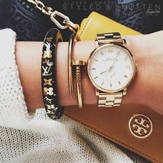 gold MJ baker watch in the mail soon to be mine!!!