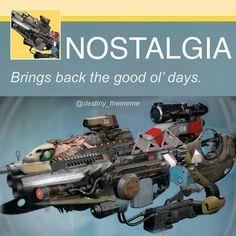 The gun can give a stroke Destiny Fallen, Destiny Comic, Destiny Hunter, Destiny Bungie, Love Destiny, Destiny Game, Gamer Humor, Gaming Memes, Dc Memes