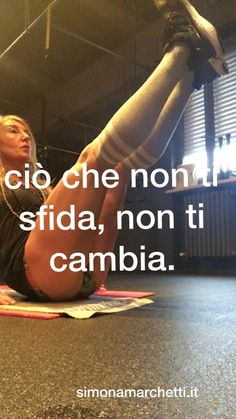 Quindi oggi cosa farai X sfidare te stesso?#personaltrainer #grouptrainer #trx #workoutmilano #running #spinning #functional #yoga