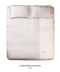 copripiumino in cotone rosa off e seta dark bordeaux decorato con ... - Copripiumino Bianco E Rosa