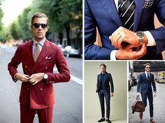 Fashion Bubbles - Moda como Arte, Cultura e Estilo de Vida Looks para Executivos - Dicas, tendências e truques de estilo para modernizar armário do homem de negócios