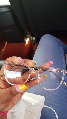 Transparent Glasses Frames, Glasses Frames Trendy, Cool Glasses, New Glasses, Clear Glasses Frames Women, Glasses Trends, Lunette Style, Eyewear Trends, Fashion Eye Glasses
