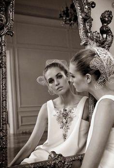 The Now Grand Couture: Vogue Italia Alta Moda September 2014 by Yelena Yemchuk - Chanel