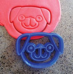 3D Printed Pug Dog Cookie Cutter by MakingItNice on Etsy