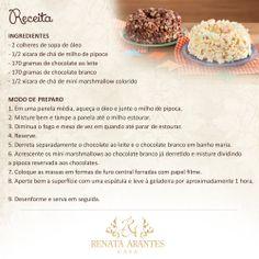 Bolo de Pipoca GOURMET / RECEITAS