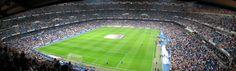 Estadio Santiago Bernabéu. Real Madrid stadium, Madrid, Spain.     Would like to go to see El Classico