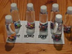 Classroom DIY: DIY Sight Word Bottles