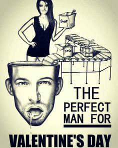 The perfect man for valentines day 🎨👏🆕 6artalan editorial /drawing /Simon Benjamin