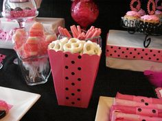 """bachelorette party desserts ideas 