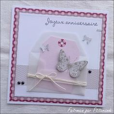 Inspiration  enveloppe calque, tag, papillon et plusieurs mattage avec du masking tape