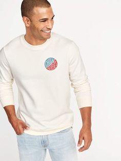 Old Navy  Chill Vibes  Graphic Fleece Sweatshirt for Men
