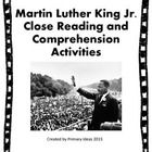 This  product contains an original informational passage about Martin Luther King, Jr.  It also contains links to teaching resources, a read with y...