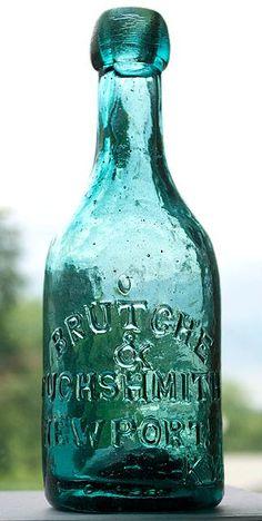 """chasingrainbowsforever: """"Vintage Bottle ~ Teal """""""