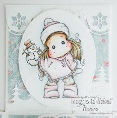 Handmade by Tamara: Christmas Magic BLOG HOP Magnolia-licious