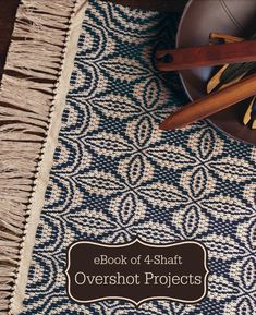 Weave this small overshot rug, then move on to the 9 other 4-shaft overshot projects in this eBook!