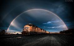 Pociąg, Tęcza