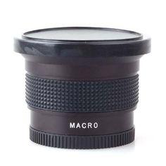Neewer 52mm 52 0.35X HD II Macro Fisheye Lens FOR Nikon D60 D70 D80 D90 D40X D100 D3000 - http://slrscameras.everythingreviews.net/10715/neewer-52mm-52-0-35x-hd-ii-macro-fisheye-lens-for-nikon-d60-d70-d80-d90-d40x-d100-d3000.html