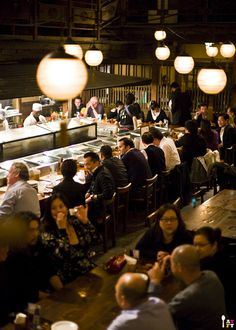 I've started scouting for places to go when I visit Japan soon and this is part of my list... Gonpachi, which is an izakaya which looks familiar for those who've seen Kill Bill
