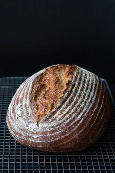 Landbrot ohne Hefe nach Tartine Bread