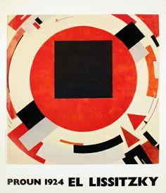 Proun (1924) Affiche par El Lissitzky sur AllPosters.fr