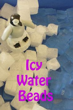 Life with Moore Babies: Icy Water Bead Cubes