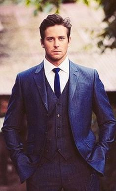Armie Hammer, the Lone Ranger... you know, I'd be happy to keep him company