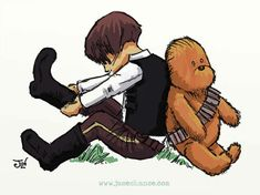"""Star Wars in """"Winnie the Pooh Style"""" 1"""