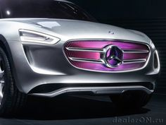 Радиаторная решетка концепта Мерседес-Бенц G-Код / Mercedes-Benz G-Code