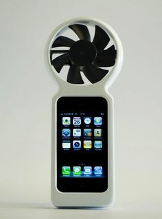 Wind Powered iPhone charger