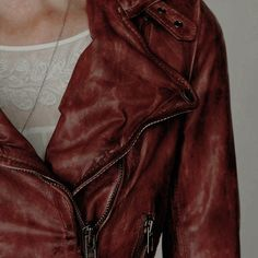 Red Leather Jacket | Emma Swan