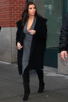 Kim Kardashian Fashion - www.redreidinghood.com