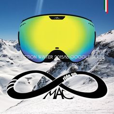 Collection Winter 2015/16 ski and snowboard Goggles series. Find us on Facebook: MAC RideOn #macrideon