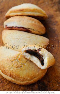 Dolcetti alla nutella o marmellata ricetta veloce vickyart arte in cucina