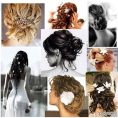 Beach wedding hair  #DBBridalStyle
