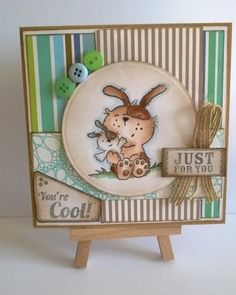 Lili-of-the-valley-lotv-Handmade-boys-childs-Birthday-Card-cute-dog