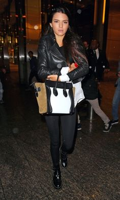 Kendall and Kylie Jenner spent a night in NYC with their mom, Kris Jenner, and friends Jonathan Cheban and Hailey Baldwin. They stopped by Nobu for dinner then got some sweets at Magnolia Bakery before heading back to their hotel The London.