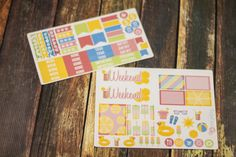 Summer Lovin' Planner Sticker Sampler Erin by BellaRosePaperCo