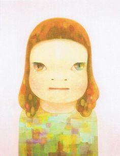 Nara Yoshitomo  「春少女」 2012