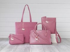 In the pink. A selection of AW14 Radley bags. www.radley.co.uk