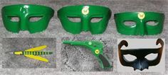 Green Hornet kato hat   click for cyproductions.com has several variations, new darker color ...