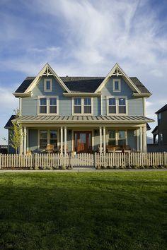 Daybreak, Utah model home?  love the exterior colors.